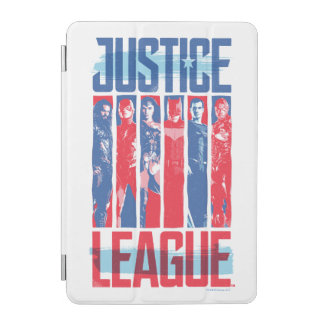 Justice League | Blue & Red Group Pop Art iPad Mini Cover