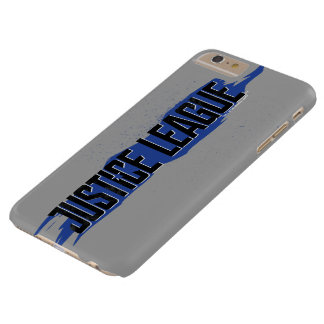 Justice League | Blue Stroke Justice League Logo Barely There iPhone 6 Plus Case