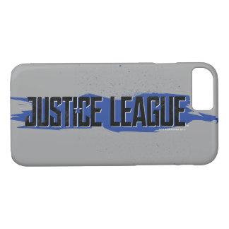 Justice League | Blue Stroke Justice League Logo iPhone 8/7 Case