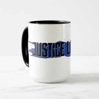 Justice League | Blue Stroke Justice League Logo Mug