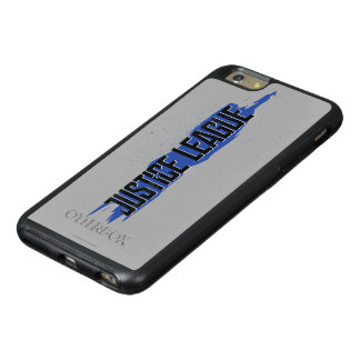 Justice League | Blue Stroke Justice League Logo OtterBox iPhone 6/6s Plus Case