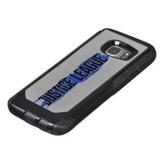 Justice League | Blue Stroke Justice League Logo OtterBox Samsung Galaxy S7 Case