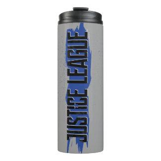 Justice League | Blue Stroke Justice League Logo Thermal Tumbler