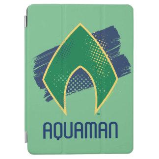 Justice League   Brush & Halftone Aquaman Symbol iPad Air Cover