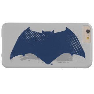 Justice League | Brush & Halftone Batman Symbol Barely There iPhone 6 Plus Case