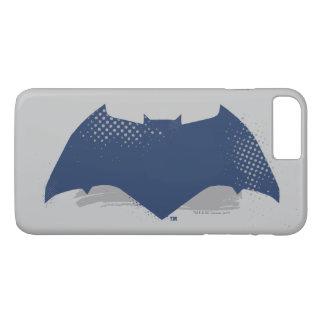 Justice League | Brush & Halftone Batman Symbol Case-Mate iPhone Case