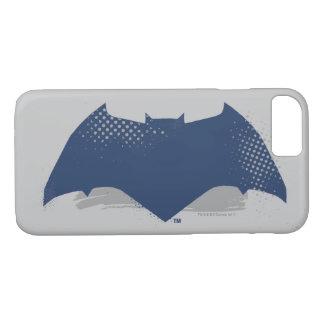 Justice League | Brush & Halftone Batman Symbol iPhone 8/7 Case