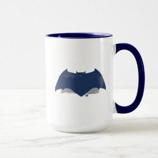Justice League | Brush & Halftone Batman Symbol Mug