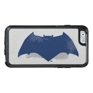 Justice League | Brush & Halftone Batman Symbol OtterBox iPhone 6/6s Case