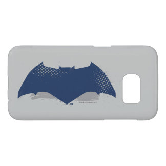 Justice League | Brush & Halftone Batman Symbol Samsung Galaxy S7 Case