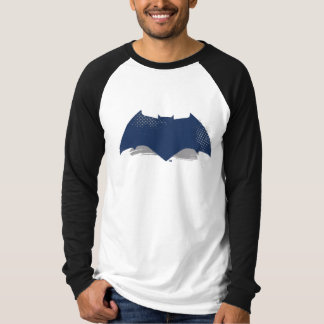 Justice League | Brush & Halftone Batman Symbol T-Shirt