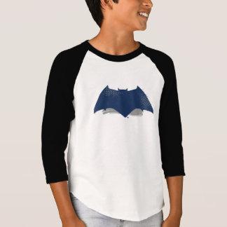Justice League | Brush & Halftone Batman Symbol T-Shirt