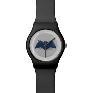 Justice League | Brush & Halftone Batman Symbol Watch