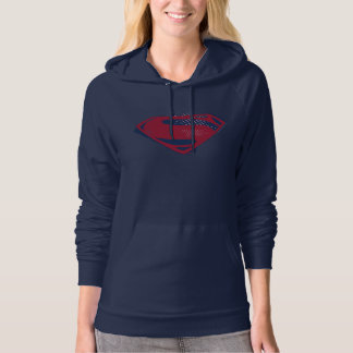 Justice League | Brush & Halftone Superman Symbol Hoodie