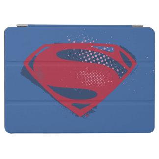 Justice League   Brush & Halftone Superman Symbol iPad Air Cover