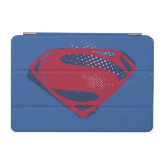 Justice League   Brush & Halftone Superman Symbol iPad Mini Cover