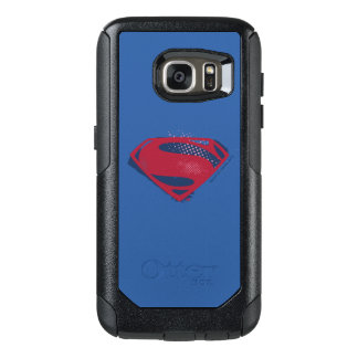 Justice League | Brush & Halftone Superman Symbol OtterBox Samsung Galaxy S7 Case