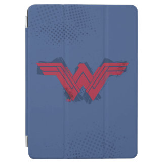 Justice League | Brushed Wonder Woman Symbol iPad Air Cover