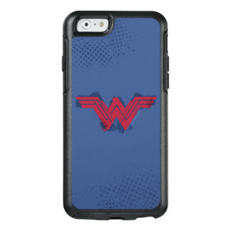 Justice League | Brushed Wonder Woman Symbol OtterBox iPhone 6/6s Case