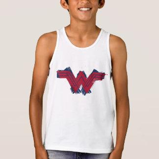 Justice League | Brushed Wonder Woman Symbol Tank Top