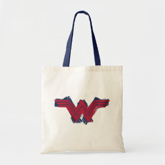 Justice League | Brushed Wonder Woman Symbol Tote Bag