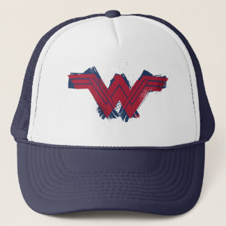 Justice League | Brushed Wonder Woman Symbol Trucker Hat