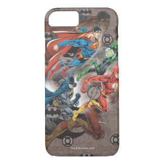Justice League Collage iPhone 7 Case