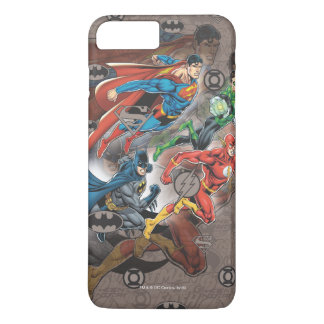 Justice League Collage iPhone 7 Plus Case