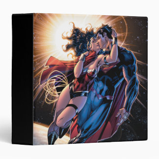 Justice League Comic Cover #12 Variant 3 Ring Binder