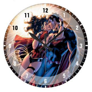 Justice League Comic Cover #12 Variant Clocks