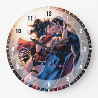 Justice League Comic Cover #12 Variant Large Clock