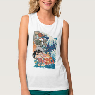 Justice League Comic Cover #15 Variant Tank Top