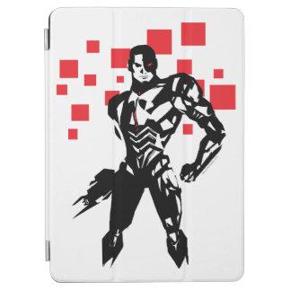 Justice League   Cyborg Digital Noir Pop Art iPad Air Cover