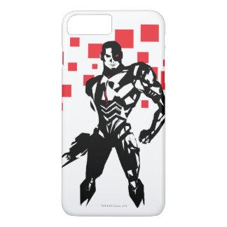 Justice League | Cyborg Digital Noir Pop Art iPhone 8 Plus/7 Plus Case