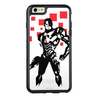 Justice League | Cyborg Digital Noir Pop Art OtterBox iPhone 6/6s Plus Case