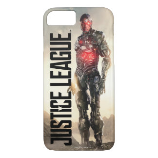 Justice League | Cyborg On Battlefield iPhone 8/7 Case