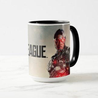 Justice League | Cyborg On Battlefield Mug
