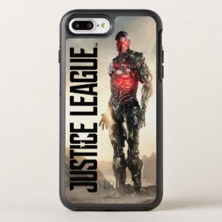Justice League | Cyborg On Battlefield OtterBox Symmetry iPhone 8 Plus/7 Plus Case