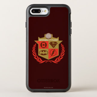 Justice League Defenders of the Planet OtterBox Symmetry iPhone 7 Plus Case