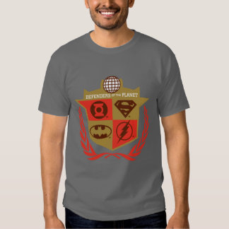 Justice League Defenders of the Planet T Shirts