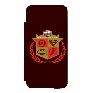 Justice League Defenders of the Planet Incipio Watson™ iPhone 5 Wallet Case
