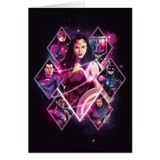 Justice League | Diamond Galactic Group Panels Card