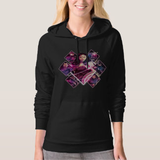 Justice League | Diamond Galactic Group Panels Hoodie