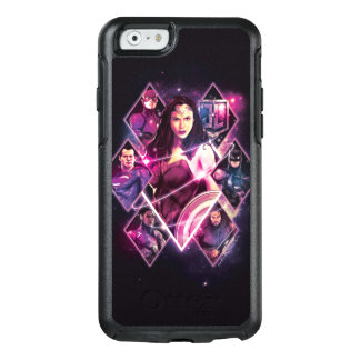 Justice League | Diamond Galactic Group Panels OtterBox iPhone 6/6s Case