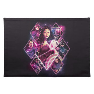 Justice League | Diamond Galactic Group Panels Placemat