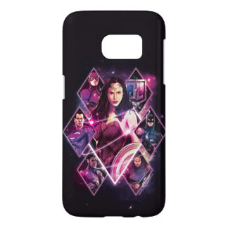 Justice League | Diamond Galactic Group Panels Samsung Galaxy S7 Case