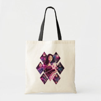 Justice League | Diamond Galactic Group Panels Tote Bag
