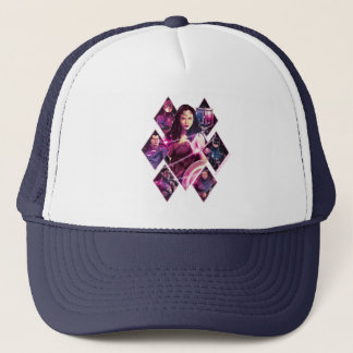 Justice League | Diamond Galactic Group Panels Trucker Hat