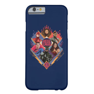 Justice League | Diamond Hatch Group Badge Barely There iPhone 6 Case