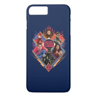 Justice League | Diamond Hatch Group Badge Case-Mate iPhone Case